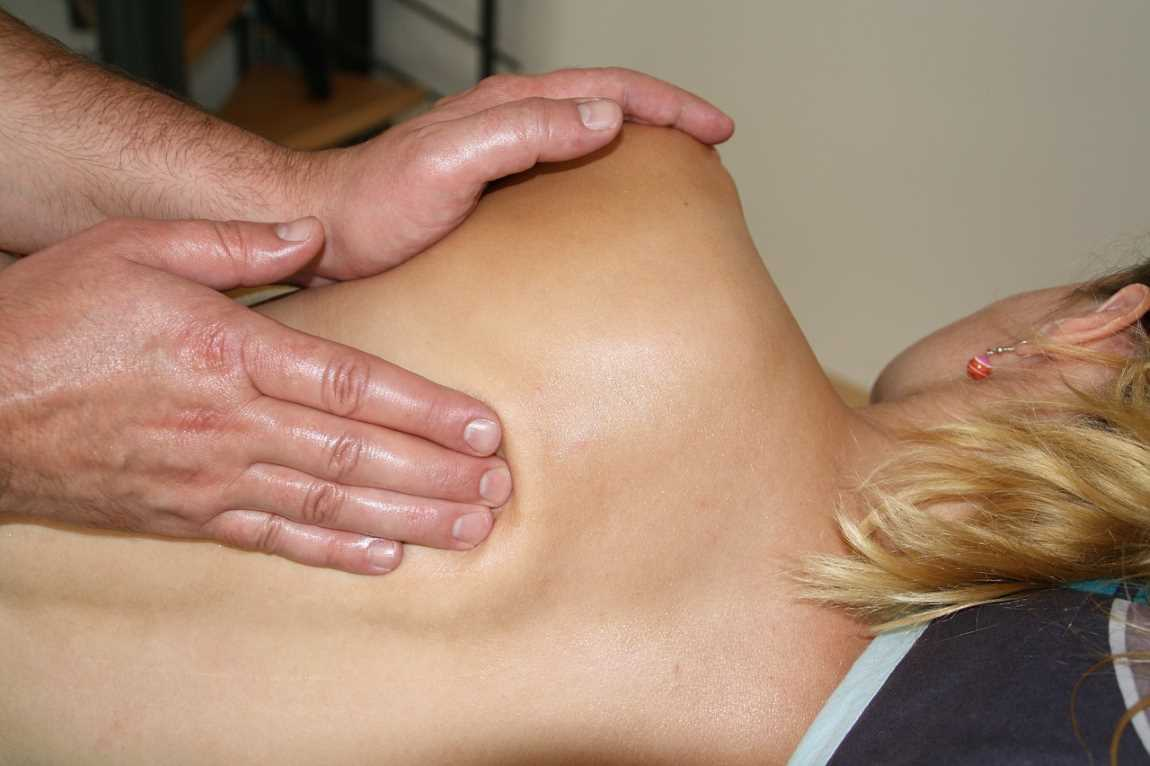 hands back massage