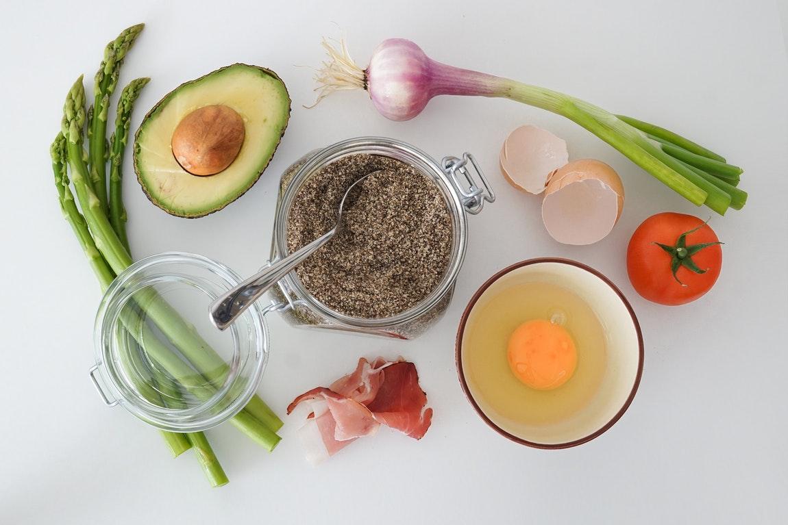 Asparagus Eggs Avocado