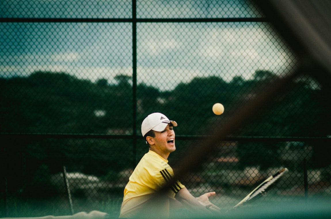 Tennis Action Photography