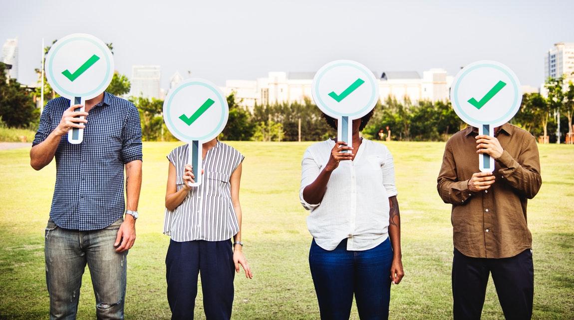 Approval Bubble People