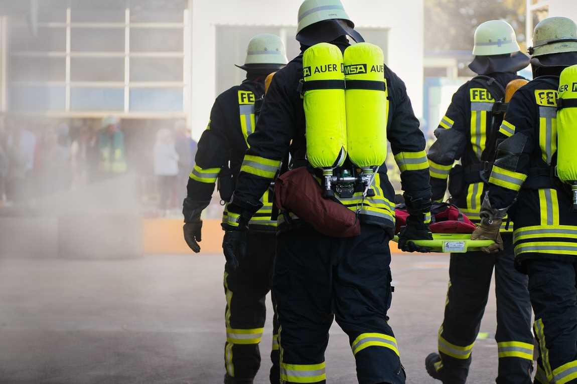 Fire Fighting Men
