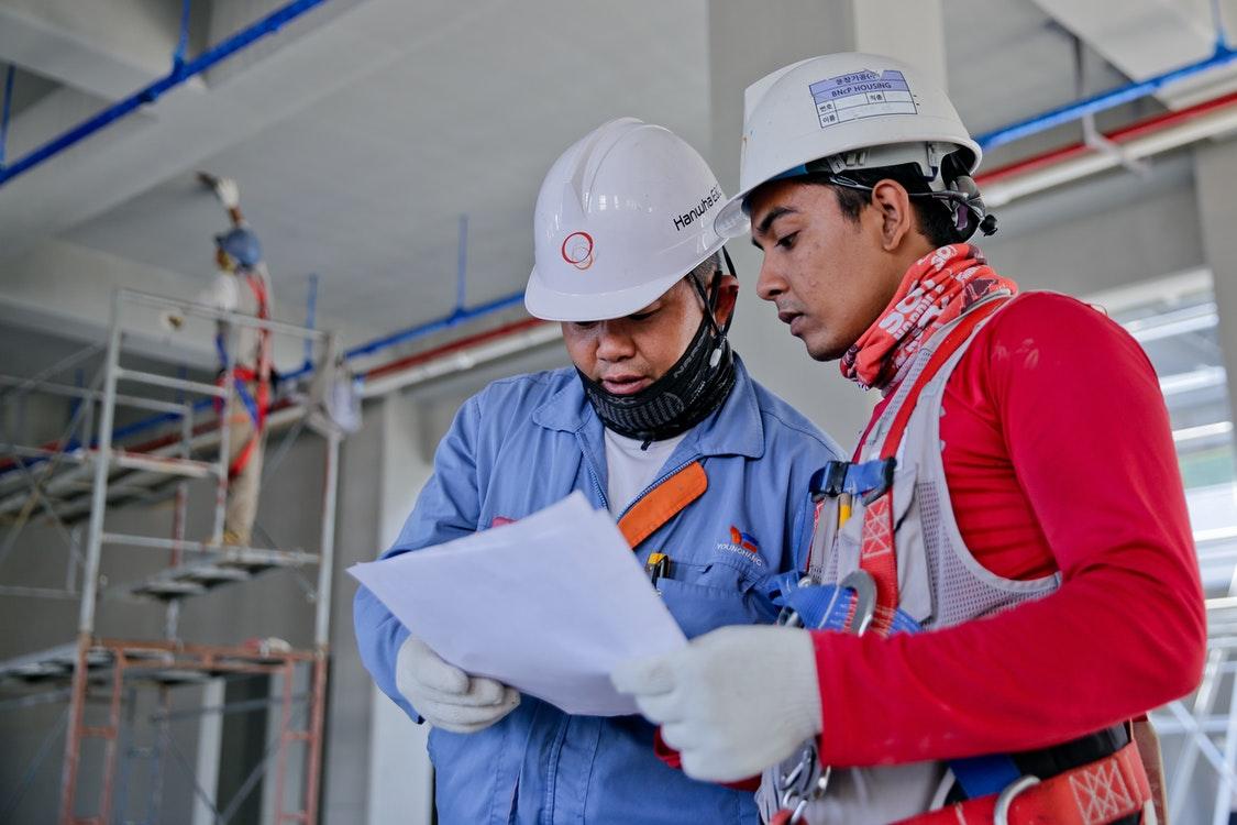 Construction Company Two Men
